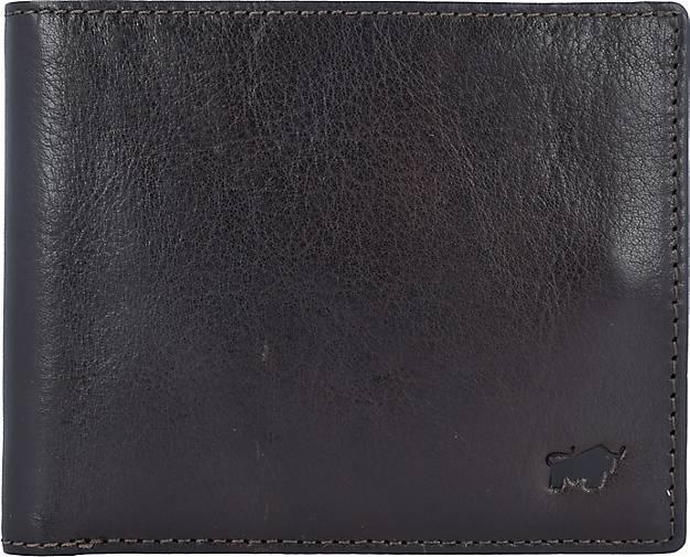 BRAUN BÜFFEL AREZZO Geldbörse RFID Leder 12 cm