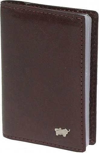 BRAUN BÜFFEL Basic Kreditkartenetui Leder 7 cm