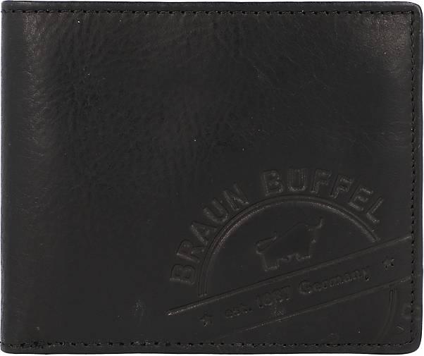 BRAUN BÜFFEL Parma LP Geldbörse Leder 11 cm