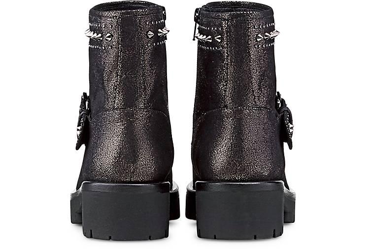 BRUNO PREMI Nieten-Stiefelie in grau-dunkel kaufen - beliebte 47765801 GÖRTZ Gute Qualität beliebte - Schuhe 0a2245