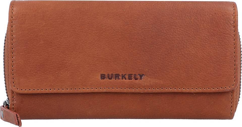 BURKELY Antique Avery Geldbörse Leder 18,5 cm
