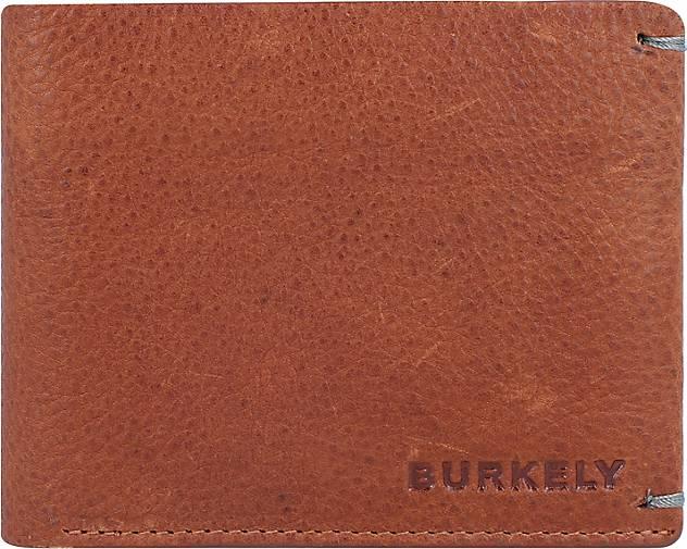 BURKELY Antique Avery Geldbörse RFID Leder 12 cm