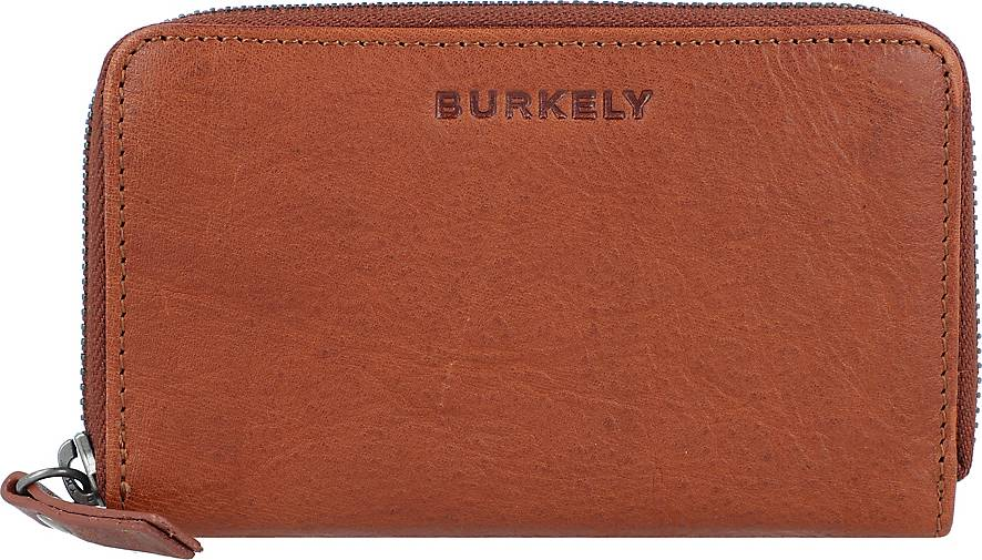 BURKELY Antique Avery Geldbörse RFID Leder 14 cm