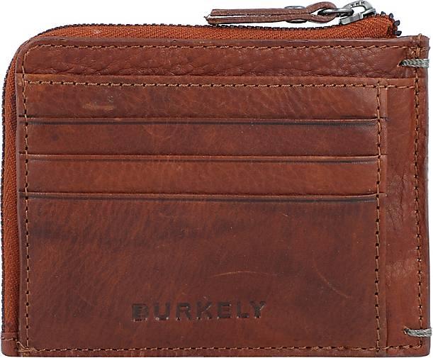 BURKELY Antique Avery Kreditkartenetui RFID Leder 11 cm