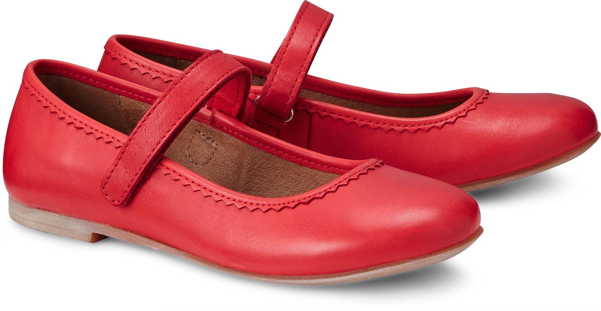 Leder Ballerina von Bellybutton in rot für Mädchen. Gr. 26