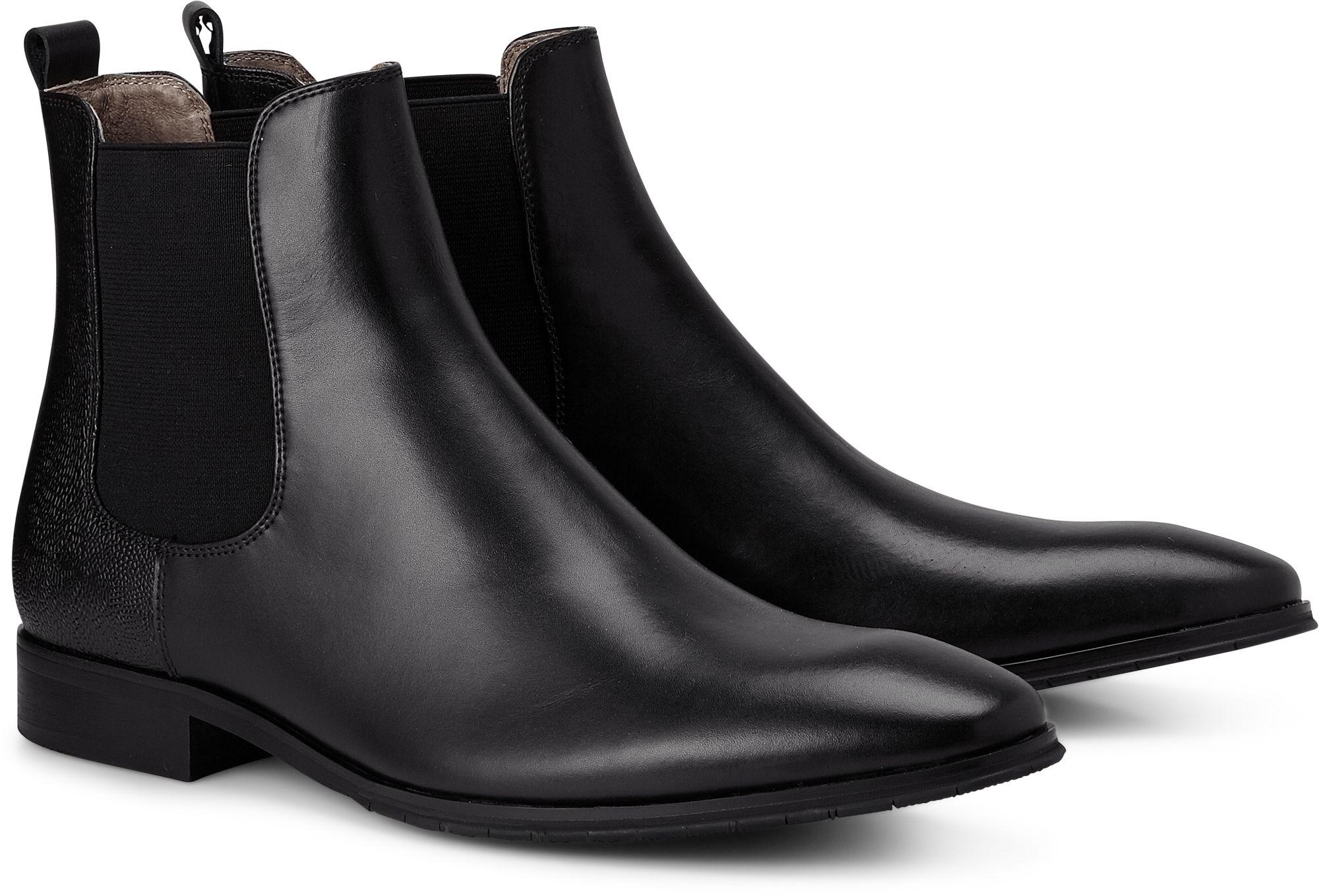 586f8ba21f21a3 Chelsea Boots von Belmondo in schwarz für Herren. Gr. 40