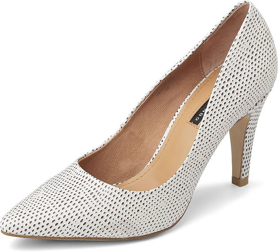 Fashion Pumps von Belmondo in weiß für Damen. Gr. 38,40,42