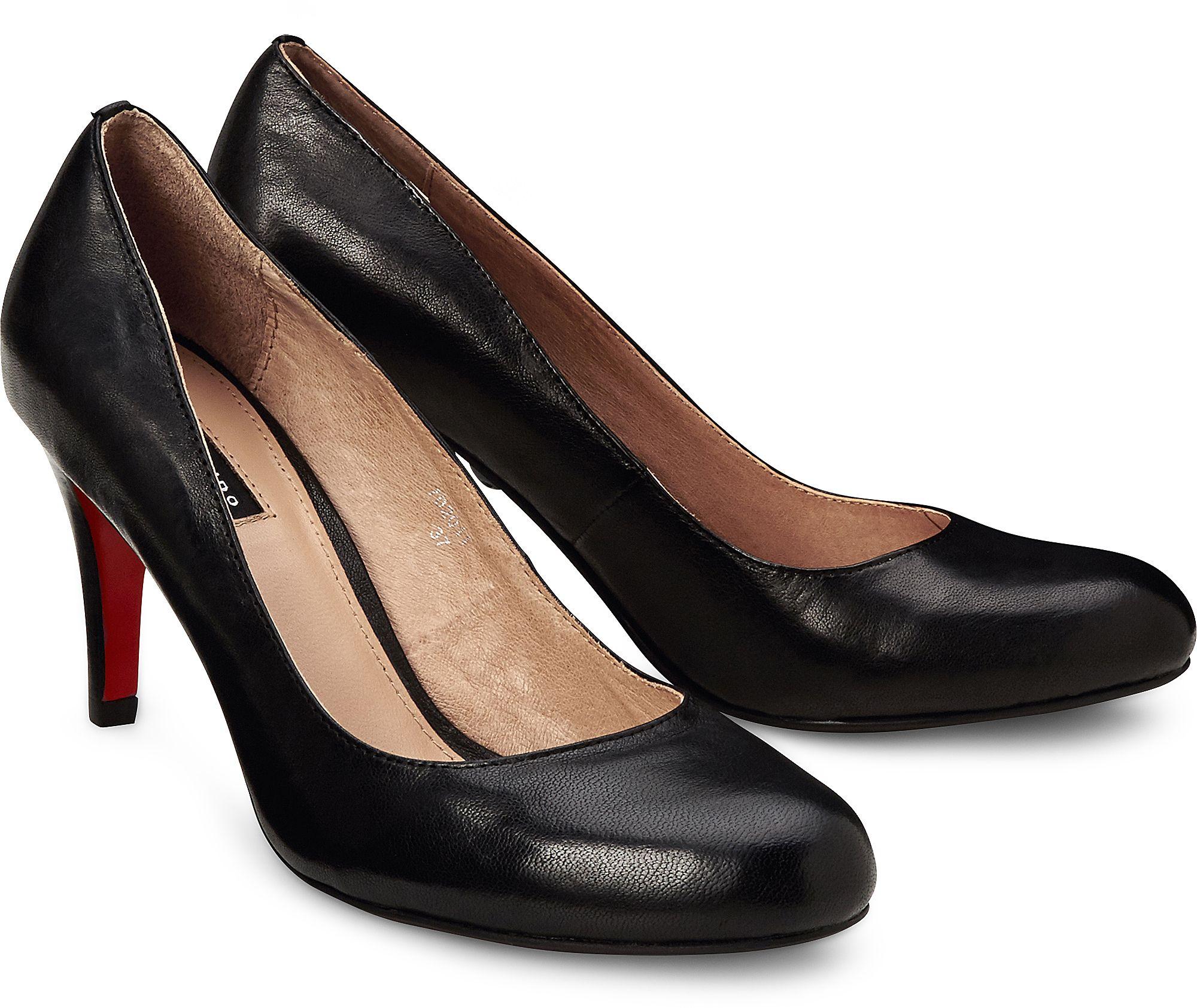 eb2888d5ab83b2 Klassik Pumps von Belmondo in schwarz für Damen. Gr. 38