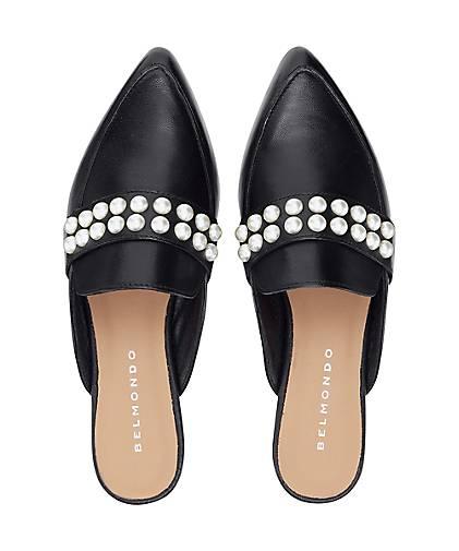 ... Belmondo Leder-Pantolette in Qualität schwarz kaufen - 47396401 GÖRTZ  Gute Qualität in beliebte Schuhe ... 3ccb4914d8
