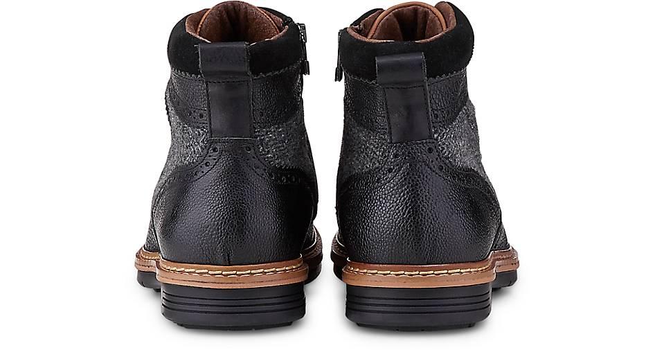 Belmondo Schnür-Boots in schwarz GÖRTZ kaufen - 46895301 | GÖRTZ schwarz Gute Qualität beliebte Schuhe f5bb39