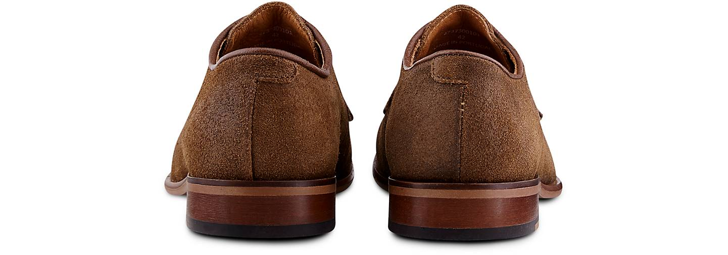 Belmondo Velours-Schnürer in braun-hell GÖRTZ kaufen - 47373001   GÖRTZ braun-hell Gute Qualität beliebte Schuhe d75c85