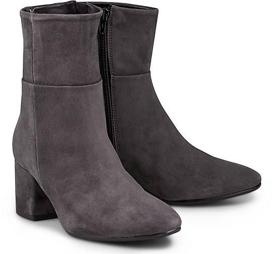 Belmondo Velours-Stiefelette in grau-dunkel kaufen Gute - 46844601 | GÖRTZ Gute kaufen Qualität beliebte Schuhe d3fec2