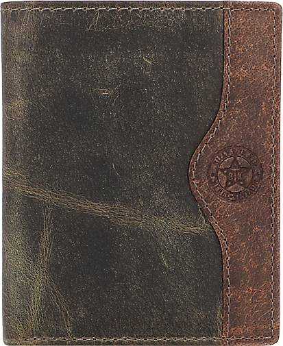 Billy The Kid Hunter Geldbörse RFID Leder 10 cm