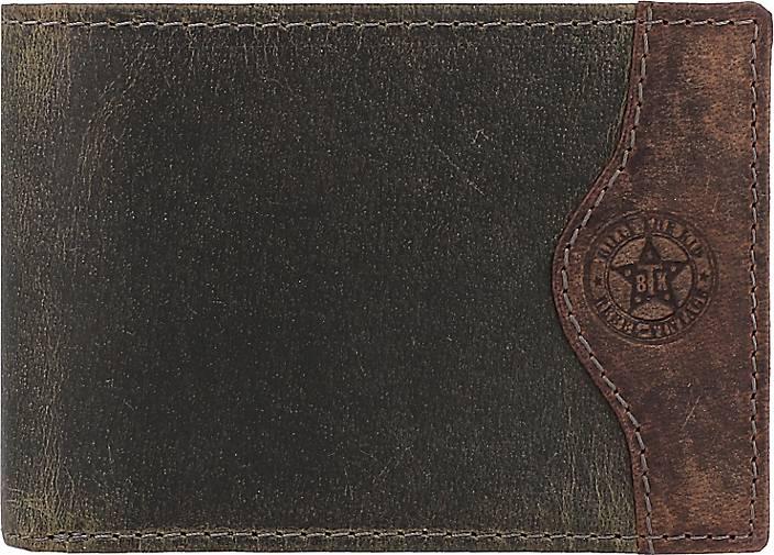 Billy The Kid Hunter Geldbörse RFID Leder 12 cm