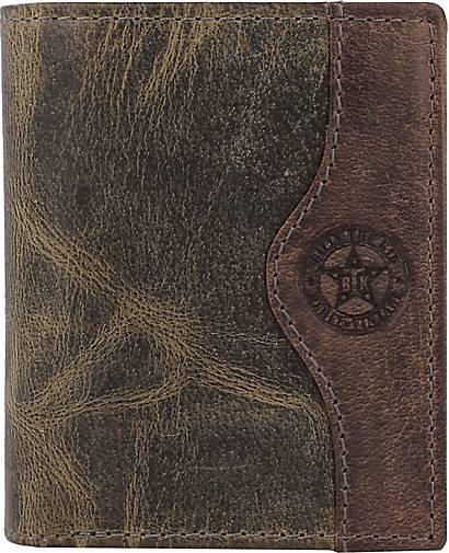 Billy The Kid Hunter Geldbörse RFID Leder 8 cm
