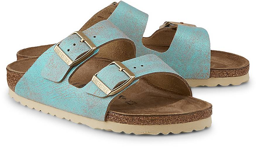 Birkenstock ARIZONA WASHED MET