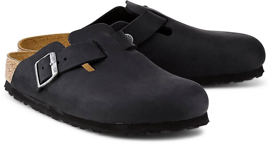 Birkenstock kaufen Pantolette BOSTON in schwarz kaufen Birkenstock - 47490501 | GÖRTZ 7e2958