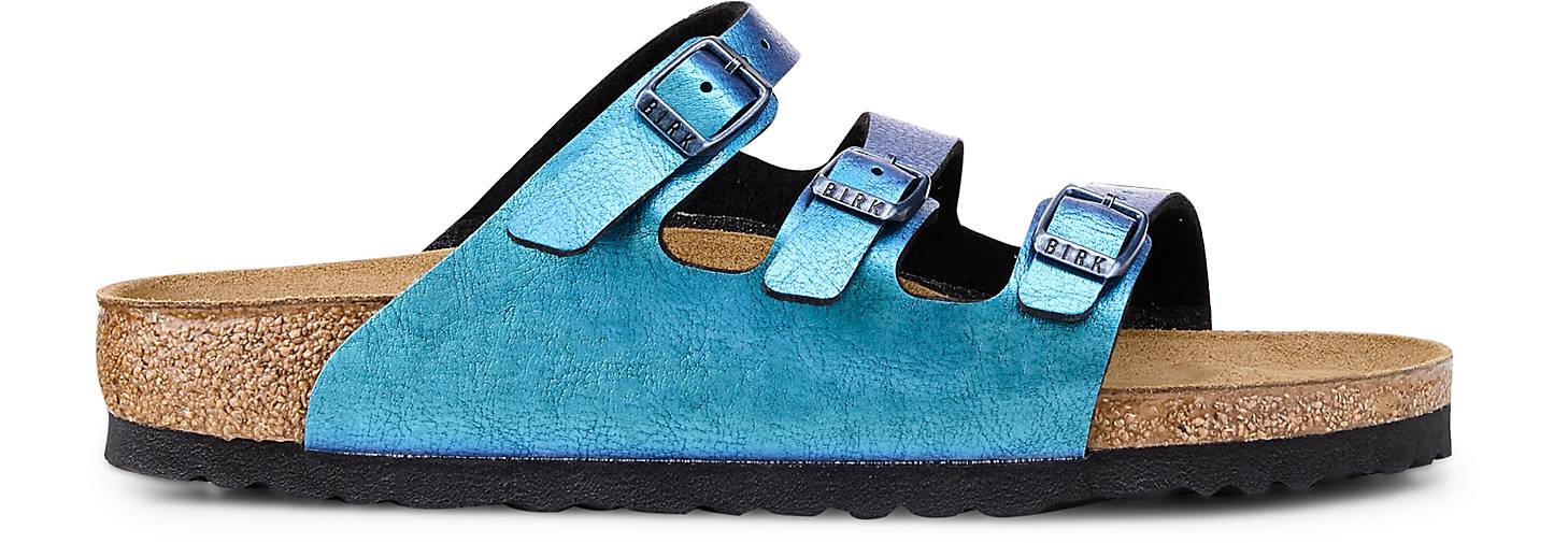 Birkenstock Pantolette FLORIDA in | blau-mittel kaufen - 47486702 | in GÖRTZ 8aa210