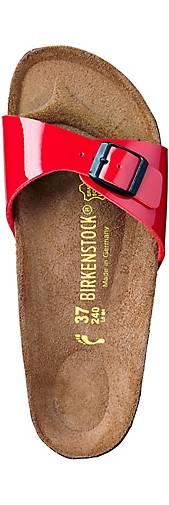 Birkenstock kaufen Pantolette MADRID in rot kaufen Birkenstock - 40529306 | GÖRTZ 7de15b