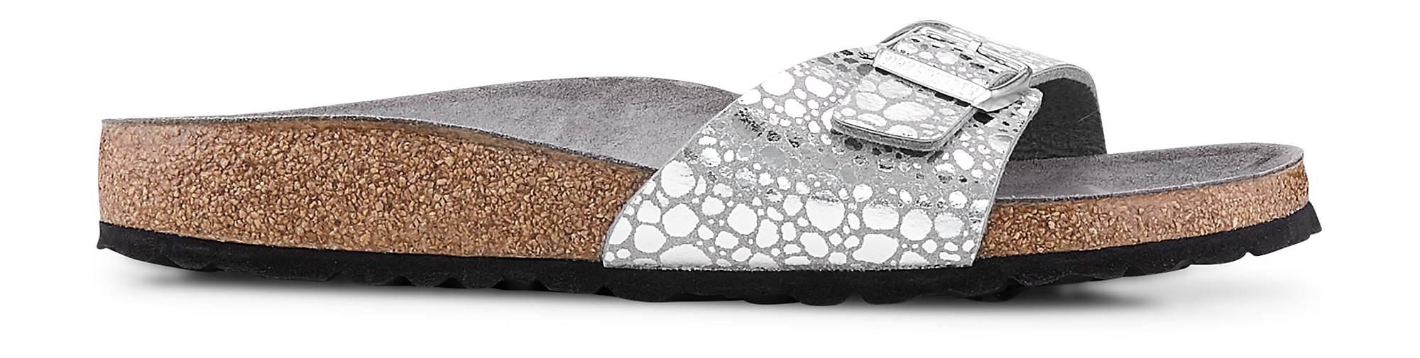 Birkenstock Pantolette MADRID in | silber kaufen - 47486601 | in GÖRTZ Gute Qualität beliebte Schuhe 36947c