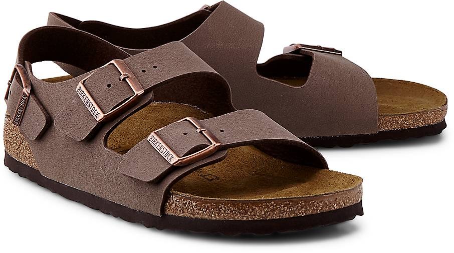 Birkenstock GÖRTZ Pantolette MILANO in braun-mittel kaufen - 47355101   GÖRTZ Birkenstock Gute Qualität beliebte Schuhe 7c093a