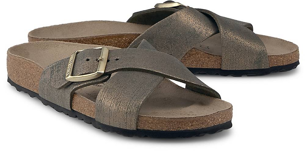 Birkenstock SIENA WASHED METALLIC