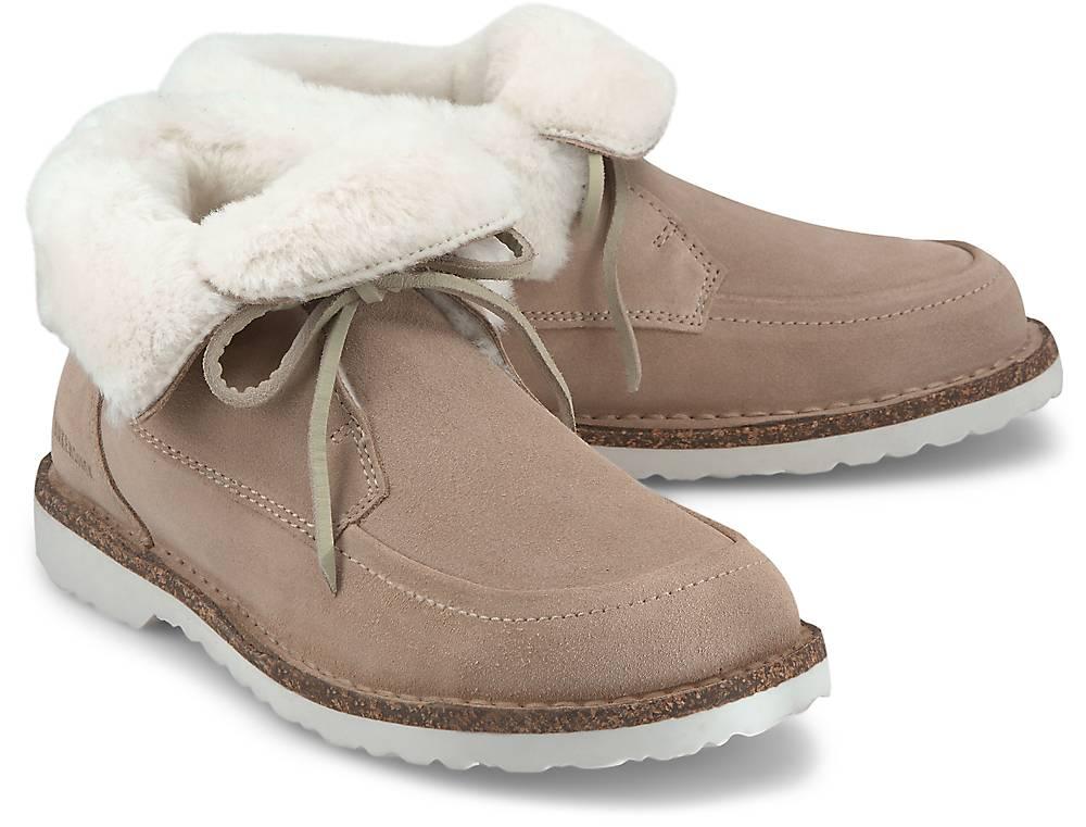 Birkenstock, Winter-Boots Bakki in beige, Boots für Damen