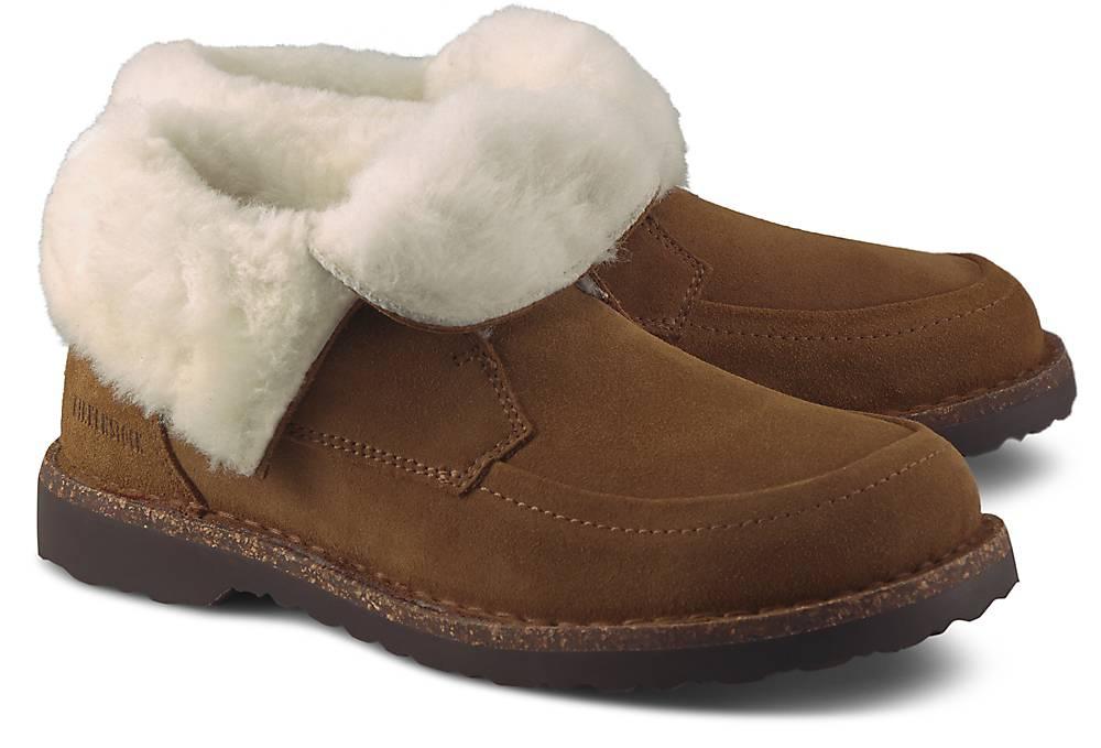 Birkenstock, Winter-Boots Bakki in mittelbraun, Boots für Damen