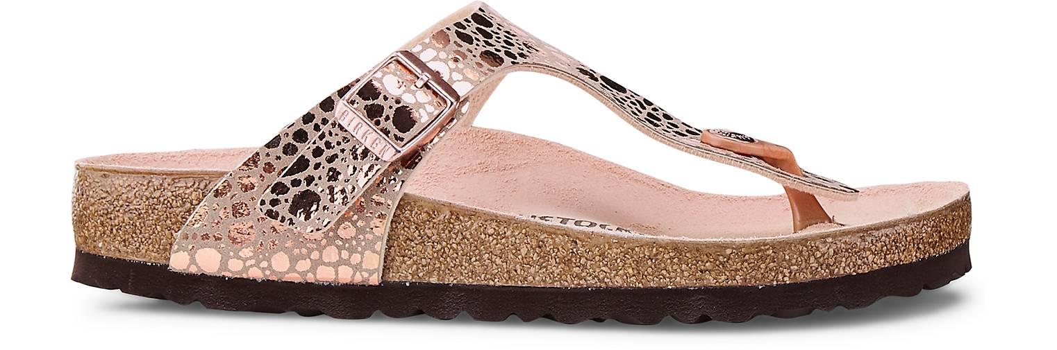 Birkenstock Zehentrenner GIZEH in gold kaufen - 47095902   Schuhe GÖRTZ Gute Qualität beliebte Schuhe   7485ab