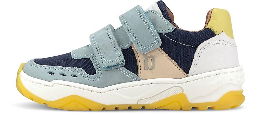 Bisgaard, Klett-Sneaker Lauge in hellblau, Sneaker für Jungen, Größe: 32