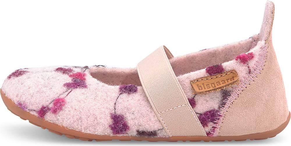 Bisgaard, Woll-Hausschuhe in rosa, Hausschuhe für Mädchen, Größe: 25
