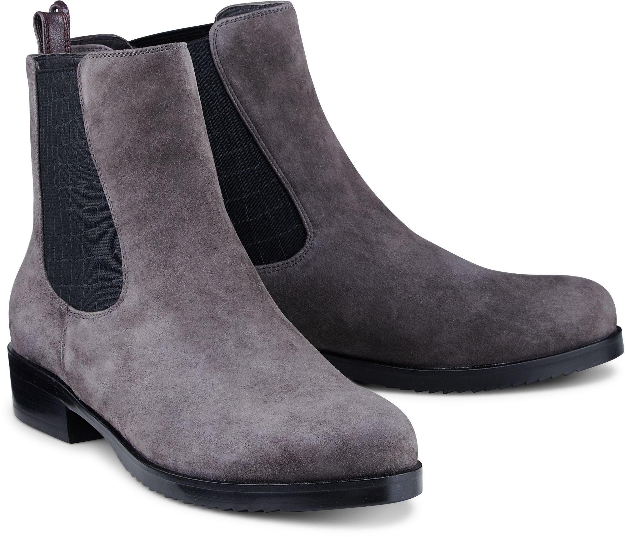 d437e0b6402314 Chelsea Boots von Brax in grau dunkel für Damen. Gr. 36