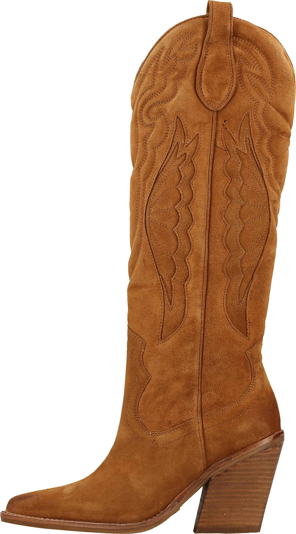 Bronx, Stiefel in mittelbraun, Boots für Damen