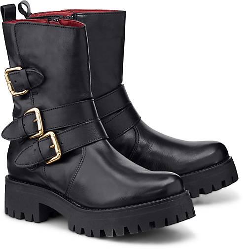 Buffalo Stiefel in schwarz von ansehen!
