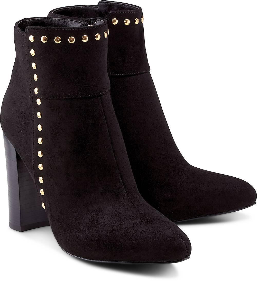Buffalo, Fashion-Stiefelette in schwarz, Stiefeletten für Damen Gr. 36