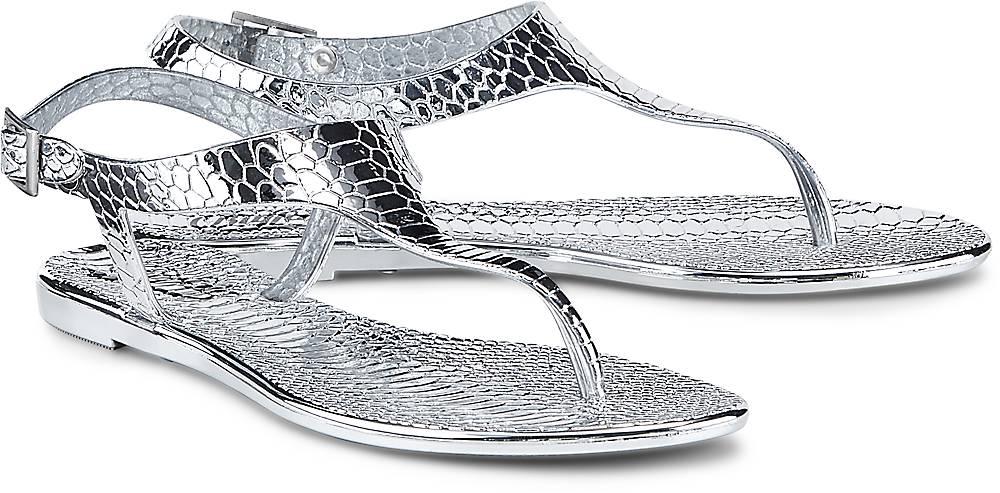 Fashion-Zehentrenner von Buffalo in silber für Damen. Gr. 36,37,38,39,40 Preisvergleich