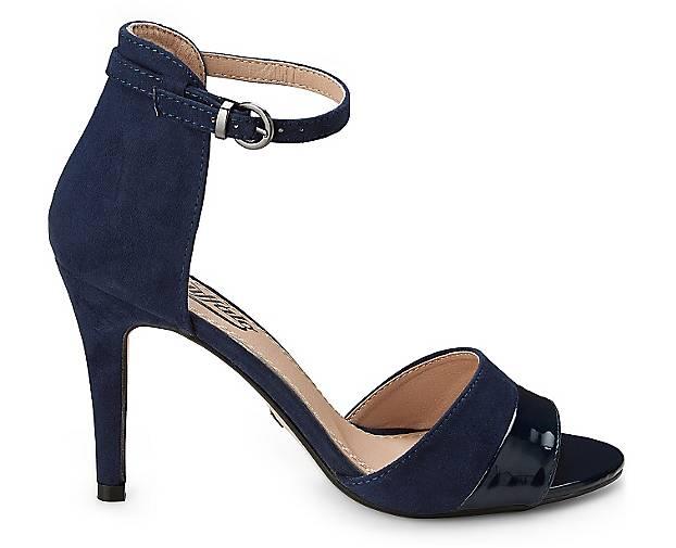 Buffalo High-Heel-Sandalette in blau-dunkel kaufen - Gute 42371204 GÖRTZ Gute - Qualität beliebte Schuhe 705ce7