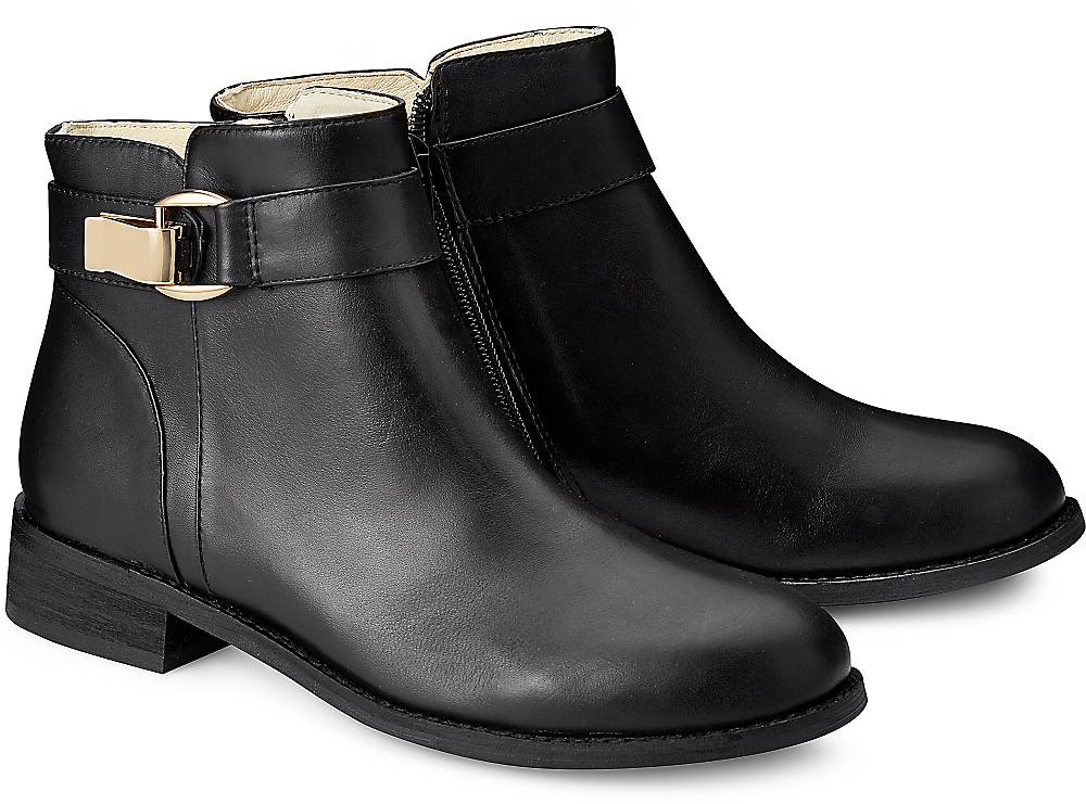 Buffalo, Klassik-Stiefelette in schwarz, Stiefeletten für Damen Gr. 36