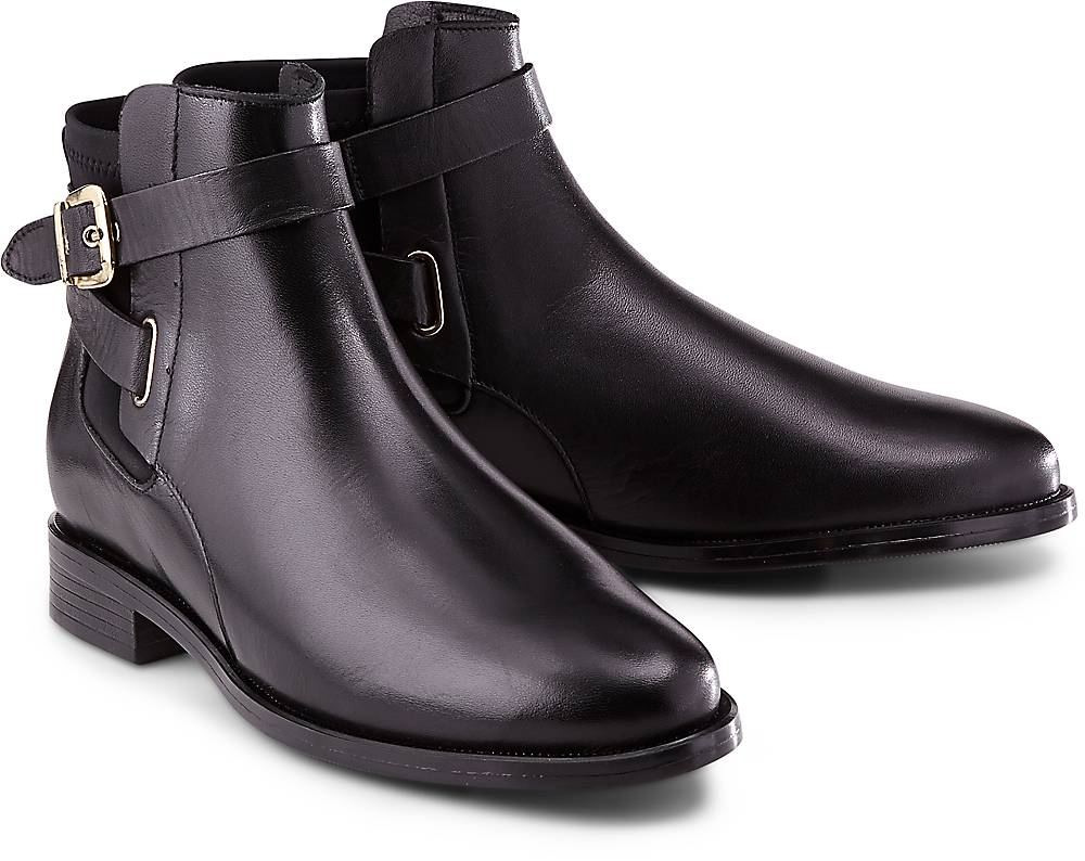 Buffalo, Klassik-Stiefelette in schwarz, Stiefeletten für Damen Gr. 37