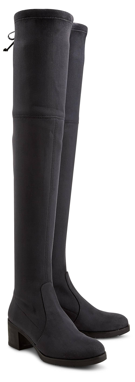 Buffalo, Overknee-Stiefel in grau, Stiefel für Damen Gr. 36