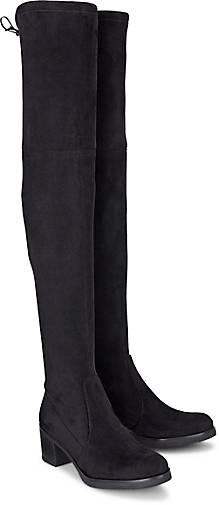 bfd57f3bc4a Buffalo Overknee-Stiefel in schwarz kaufen - 45703801