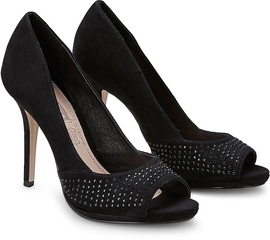 buffalo high heels schwarz buffalo high heel sandalette. Black Bedroom Furniture Sets. Home Design Ideas