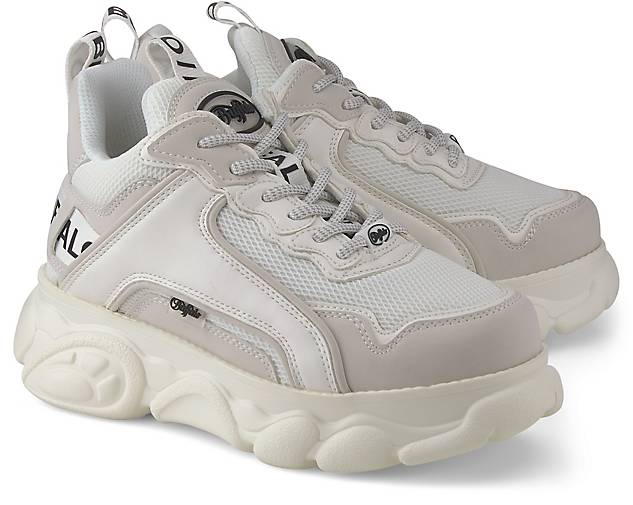 Buffalo Platform-Sneaker CHAI