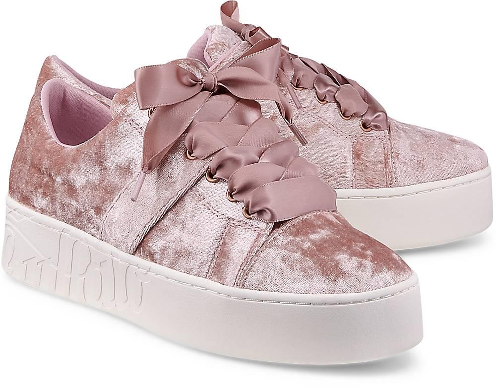 Buffalo, Sneaker Sn Melbourne in rosa, Schnürschuhe für Damen Gr. 36