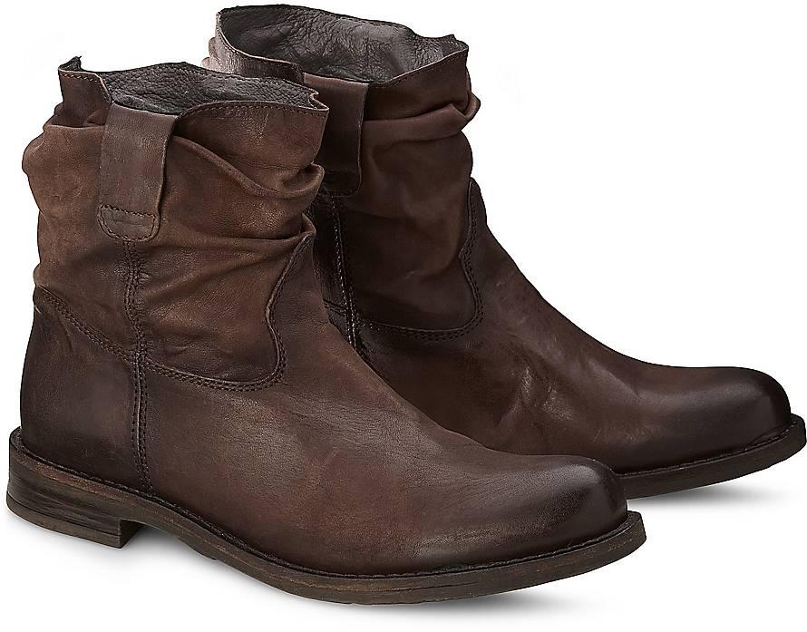 buffalo style bootie boots braun dunkel goertz. Black Bedroom Furniture Sets. Home Design Ideas