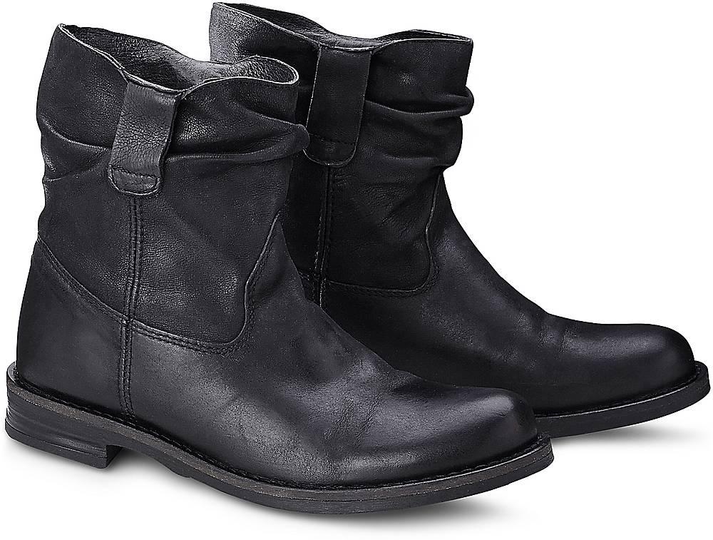 Buffalo, Style-Bootie in schwarz, Stiefeletten für Damen Gr. 36