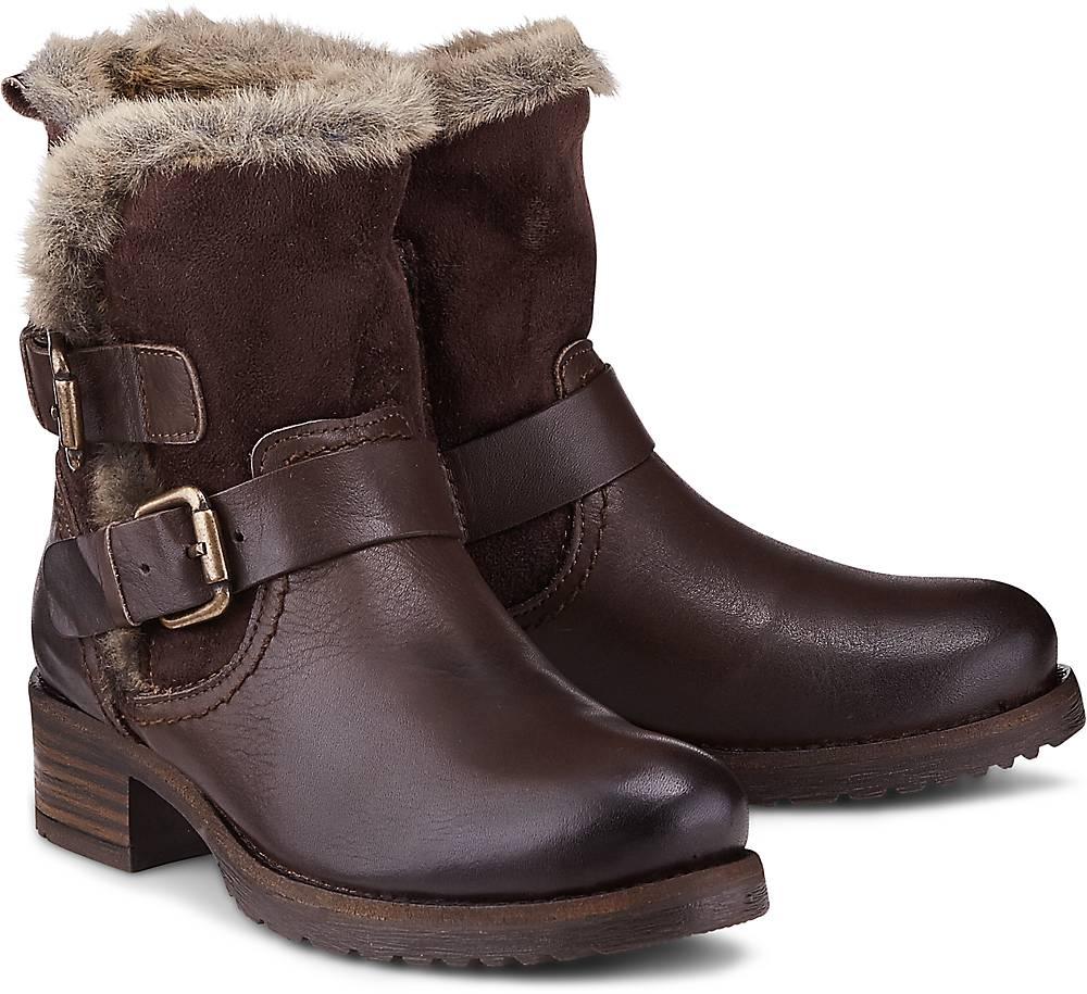 Buffalo, Trend-Stiefel in braun, Stiefeletten für Damen Gr. 36