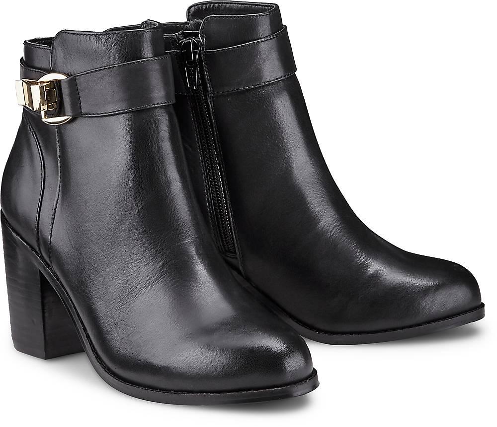 Buffalo, Trend-Stiefelette in schwarz, Stiefeletten für Damen Gr. 36
