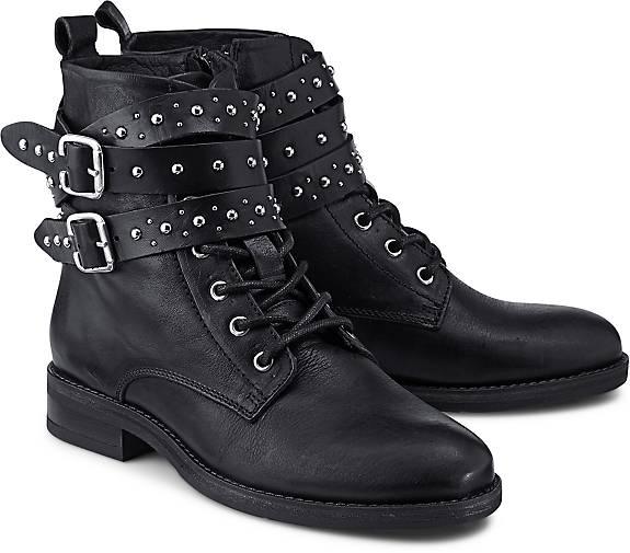 Trend-Stiefelette in schwarz, Stiefeletten für Damen Gr. 36 Buffalo