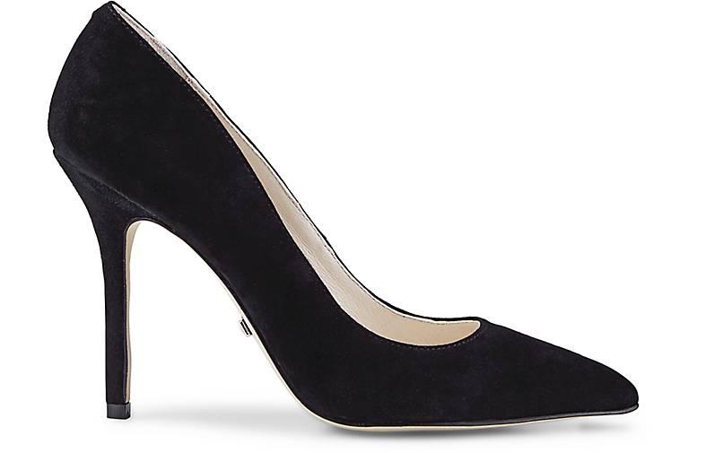 buffalo velours pumps high heels schwarz g rtz. Black Bedroom Furniture Sets. Home Design Ideas